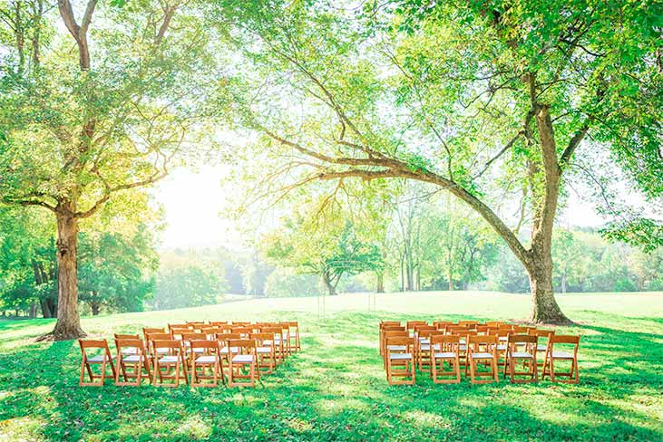 Ayr Mount NC wedding ceremony site